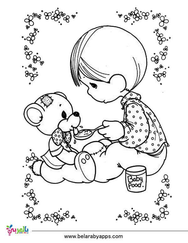 رسومات عن الرفق بالحيوان للتلوين جاهزة للطباعة للاطفال بالعربي نتعلم Precious Moments Coloring Pages Coloring Pages Disney Coloring Pages