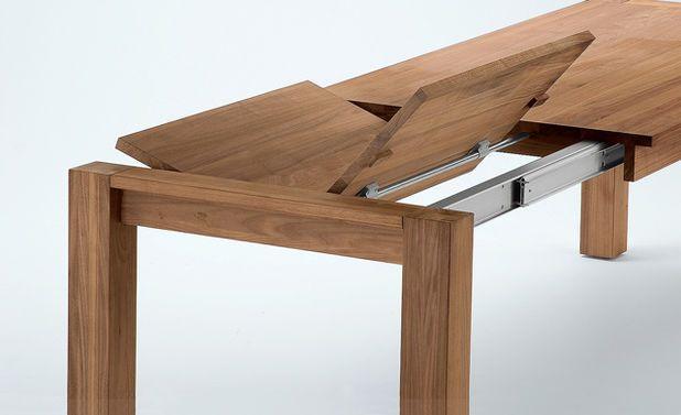 Ausziehbaren Esstisch bauen