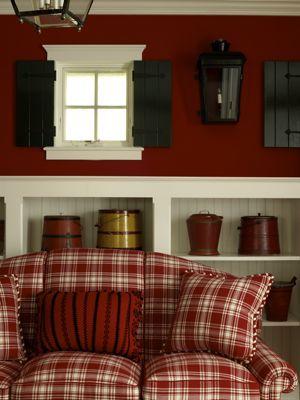 The 25 best plaid sofa ideas on pinterest cabin for Tartan wallpaper next