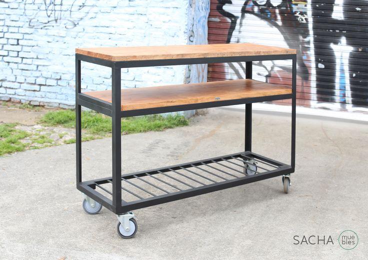 M s de 25 ideas incre bles sobre barra movil en pinterest for Bar movil de madera