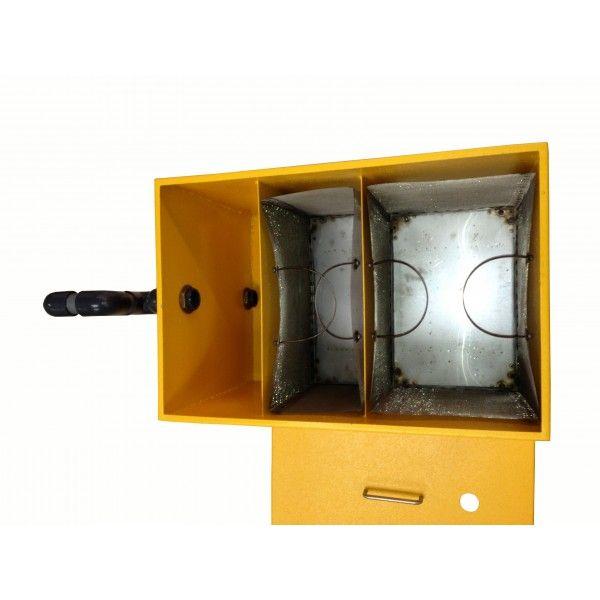 Bac de décantation inox pour cuisine central et atelier de peinture - BACESP01 - Solargil