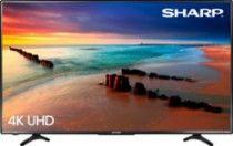 "Sharp 43"" Class (42.5"" Diag.) - LED - 2160p - Smart - 4K Ultra HD TV Roku TV Black LC-43LBU591U - Best Buy"