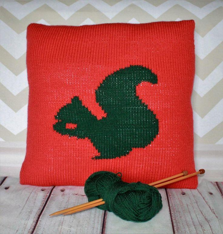 Beginner Squirrel Cushion Cover