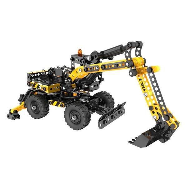 Meccano building fun The Evolution Series from Meccano extends the older children's scope to build more complexedmodels Construct the Meccano full-functionnal Excavator and go to play. #toys2learn #construction #meccano #earlylearning
