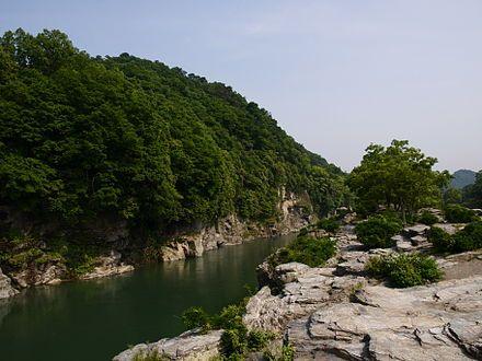 長瀞渓谷 - Wikipedia