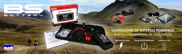 CARREGADOR BATERIAS BS POWERBOX | Ligue o seu veículo e carregue os seus dispositivos móveis... em qualquer lado! A nova Power Box PB-01 torna a vida mais fácil para todos. É uma bateria compacta e poderosa que pode ser colocada em qualquer top-case ou compartimento da moto. GARANTIA | Irá ter sempre os seus veículos em funcionamento e os seus dispositivos móveis carregados. #lusomotos #powerbox #BS #bateria #carregador #estilodevida #cuidados #vádefériasdescansado