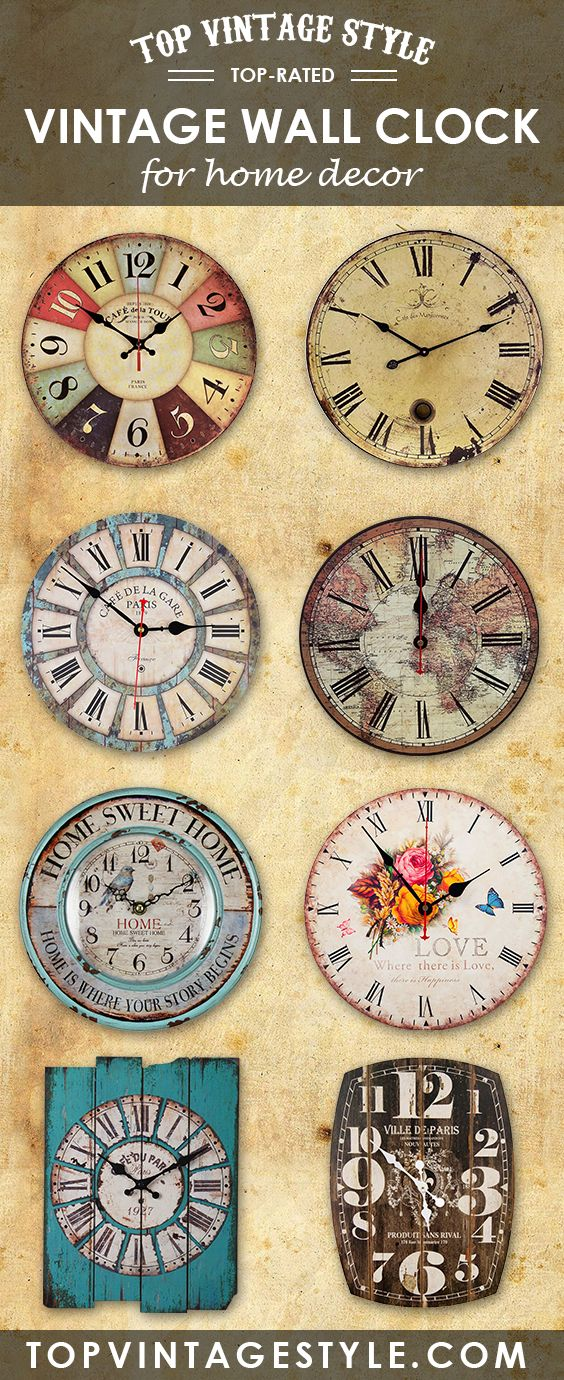 If You Do Not Have Any Idea Whatsoever On What Vintage Wall Clock You  Should Get, Read On To See A Short List Of The Five Best Vintage Wall Clock You  Can ...