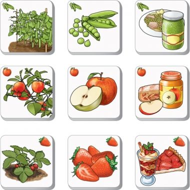 PEXETRIO KIDS - Znáš ovoce a zeleninu?