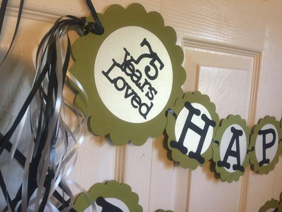 1000 ideas about 75th birthday parties on pinterest for 75th birthday decoration ideas