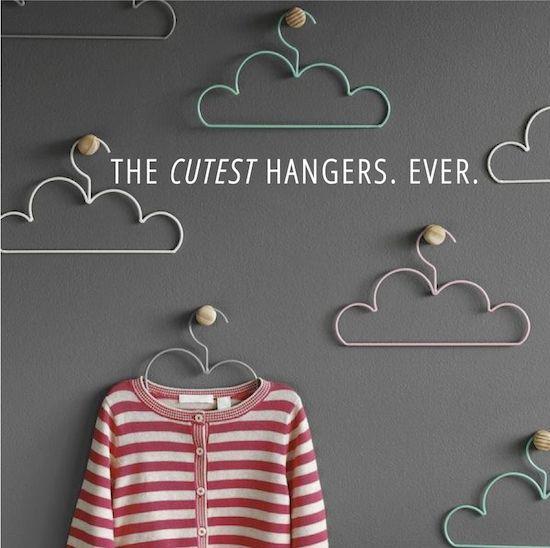 Cloud hangers!