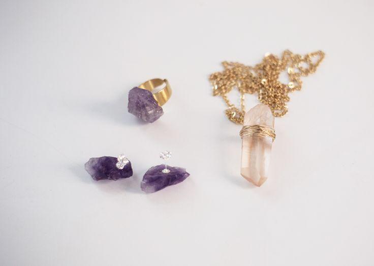 Smycken av kristaller av Beata på Radar Magazine