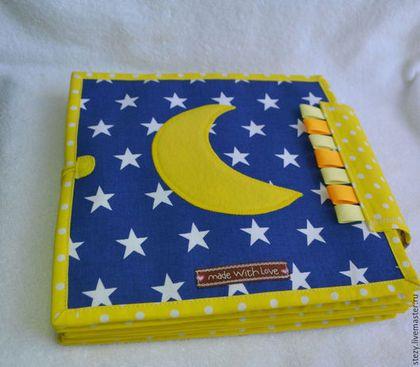 Купить Развивающая книжечка - желтый, развивающая игрушка, развитие мелкой моторики, развивайка, развивающая книжка