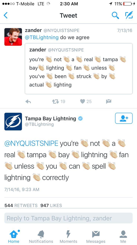 NHL Twitters