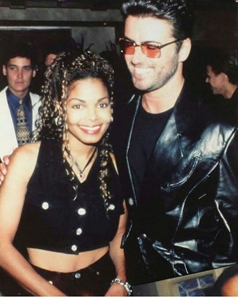 Janet Jackson and George Michael (1993).