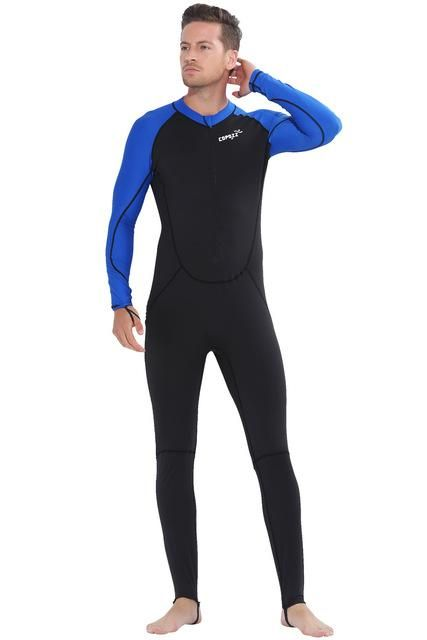 0b20ffa211 Copozz Full Body Wetsuits Men Women Youth Sun Protection Swimming Suits For  Scuba Diving Swimming Surfing Spearfishing One Piece