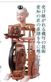 「からくり 人形 仕組み」の画像検索結果