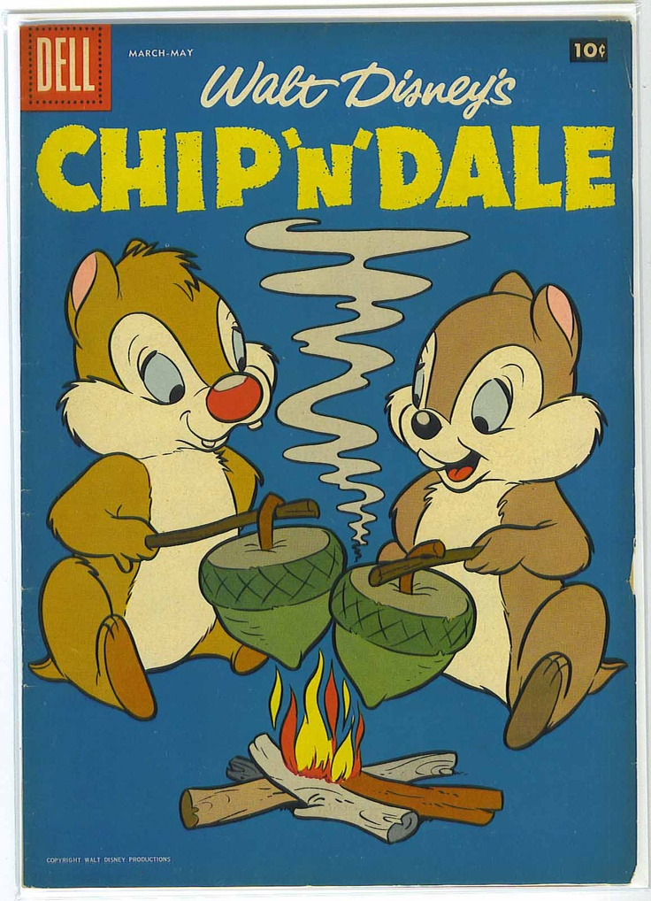 Chip 'n' Dale Walt Disney Production (1943)