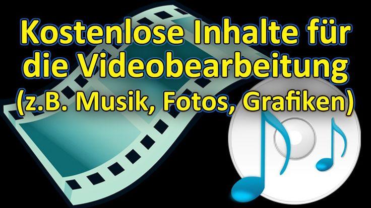 Kostenlose Musik, Videos, Bilder, etc. für z.B. Videobearbeitung