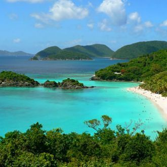 Trunk Bay ~ St. John, USVI..... I have snorkeled around this little island.  Breathtaking!!