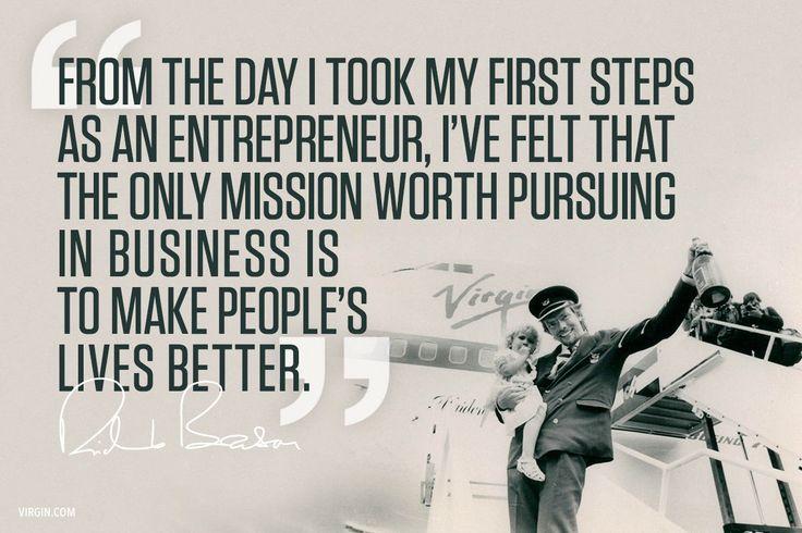 Entrepreneurs are problem solvers | Virgin  #richardbransonquotes
