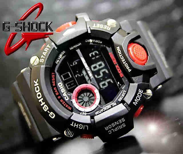 CASIO G-SHOCK RANGEMAN GW-9400 (Code: 4OS190;@219.000) Jam Tangan Pria Digital Black Red Mesin Batere Size of Case: 55.2 × 53.5 × 18.2 mm  Warna sesuai gambar  Membuat penampilan AGAN tampak lebih energik, elegan, fashionable, dan berkelas.  SMS: 08531 784 7777 PIN: 331E1C6F WhatsApp Website: www.butikfashionmurah.com