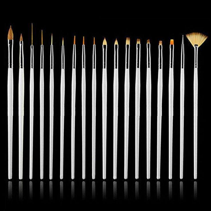 15 PCS DIY Manicure Brush Set  #nochillbanana #makeupbrushes #makeupkit #pretty #minimal #makeupbyme #savvyentrepreneur #femalebusiness