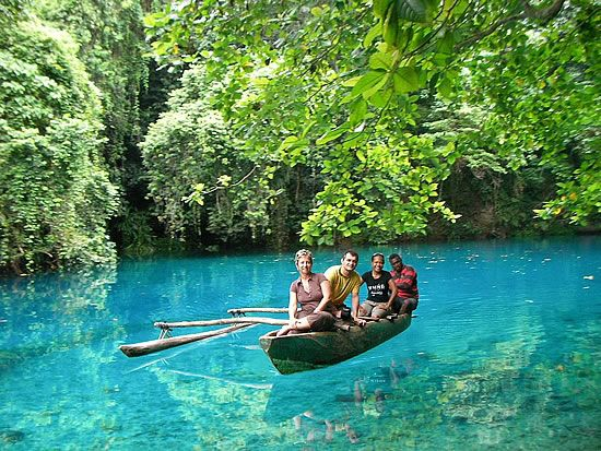#Vanuatu: Crystals, Swim Hole, Beautiful Rivers, I Love You, Places, Blue Hole In Santo, Santo Vanuatu, Espiritu Santo Blue Hole Jpg, Turtles Islands