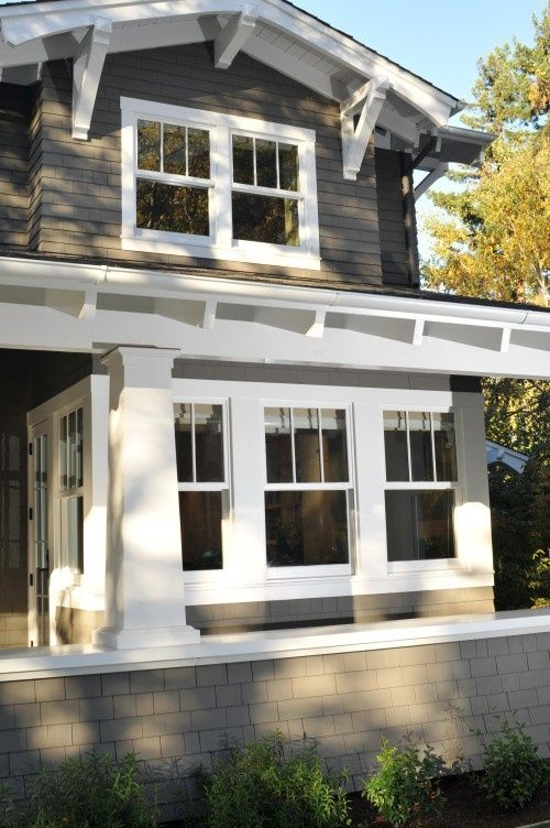93 best bungalow craftsman cottages images on pinterest for New window styles for homes