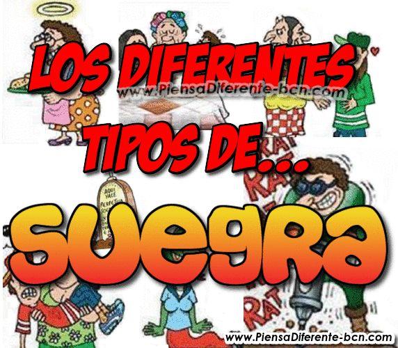 Piensa Diferente: LOS DIFERENTES TIPOS DE SUEGRA