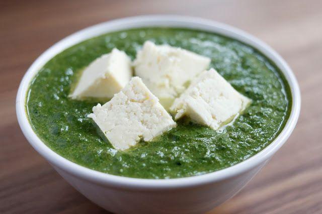 Maria Uldahl - Grønn matglede: Grønn og skjønn palak paneer