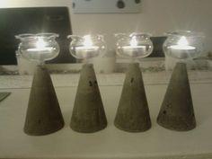 beton rustikal mit verspielten glaswindlichter