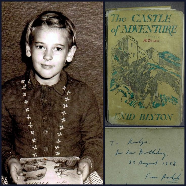 An English relative gave me 'The Castle of Adventure' for my 8th birthday and started me on a long love affair with Enid Blyton's books, Elsie J Oxenham's Abbey series and virtually anything set in England. I read it countless times! About 10 years ago, I spent an idyllic week in Dorset where Enid spent many of her holidays. We wandered along the sea cliffs where she would have walked and relived the adventures of the 'Secret Seven' and 'Famous Five'.  - Ros, Qld