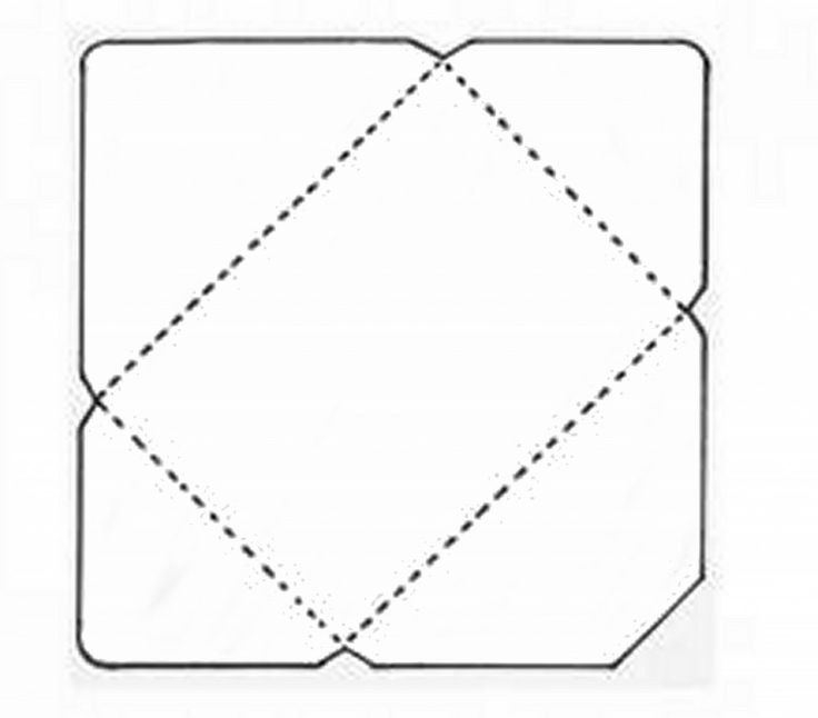 Envelope pattern manualidades pinterest to be for Mailer format template