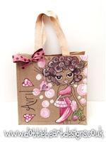 Personalised hand painted Jute Bag