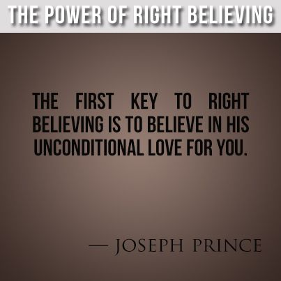 The Power of Right Believing, Joseph Prince