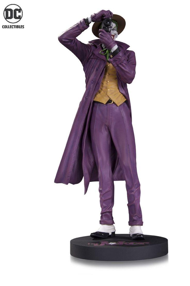 DC Comics Designer Series The Joker by Brain Bolland Statue  www.FanboyCollectibles.com  https://www.facebook.com/fanboy.collectibles/  https://twitter.com/FanboyCollect  https://www.instagram.com/fanboycollectibles/  https://fanboycollectibles.tumblr.com