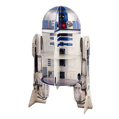Star Wars™ R2D2 Cardboard Cupcake Cake Display Stand - 12 Cupcakes - from Lakeland