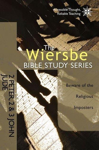 2 Peter/2-3 John/Jude (Wiersbe Bible Study Series)