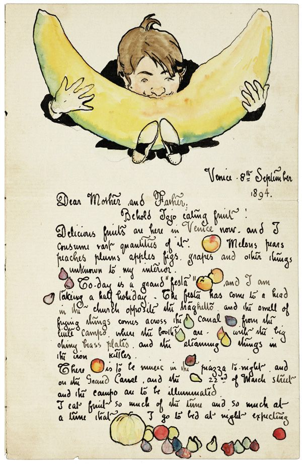 More than Words: The Illustrated Love Letters, Thank-You Notes, and Travelogues of Great Artists, from Kahlo to Calder to Saint-Exupéry | Brain Pickings