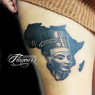 african queen tattoo - Google Search                                                                                                                                                                                 More