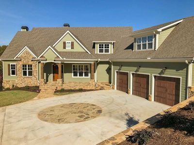 Exciting Craftsman with Angled Garage and Optional Finished Lower Level - 24375TW thumb - 02