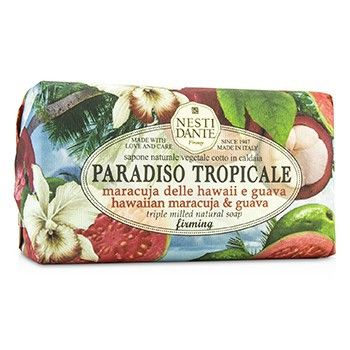 Paradiso Tropicale Triple Milled Natural Soap - Hawaiian Maracuja & Guava