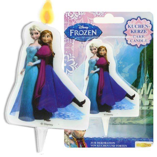 Świeczka na tort dla prawdziwych Frozen - Kraina Lodu. Świeczka jest doskonałą dekoracją i będzie prawdziwą niespodzianką dla każdego wielbicieli Anny i Elsy.