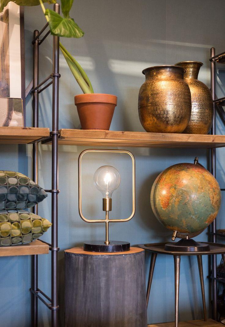 Oryginalna lampa stołowa Cubo #TwojeMeble #TwojaLampa #lampa #stołowa #CUBO #Dutchbone