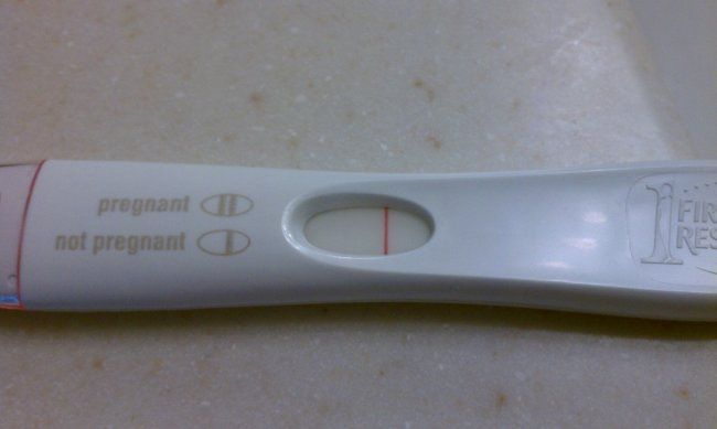 An in-depth exploration on pregnancy tests and whether Internet Cheapies are more sensitive than First Response Early Response. Image: Author's own photo of a Positive Pregnancy Test, 8dpo, FRER