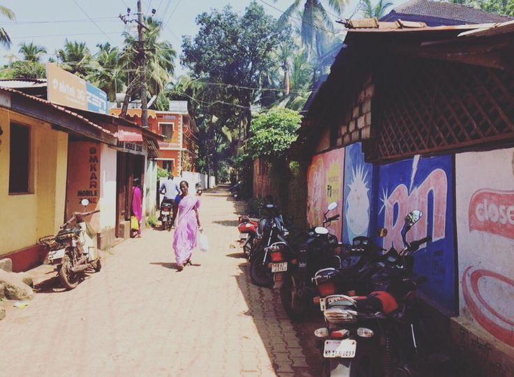Streets of Gokarna #india