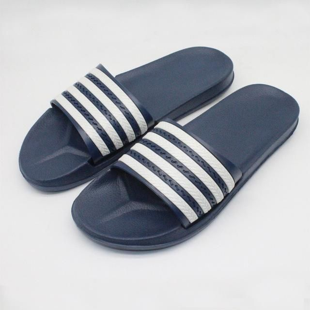 Men'S Youth Summer Striped Slippers Flip-Flops Home Slip Slippers cheap really ZuFfQWPx