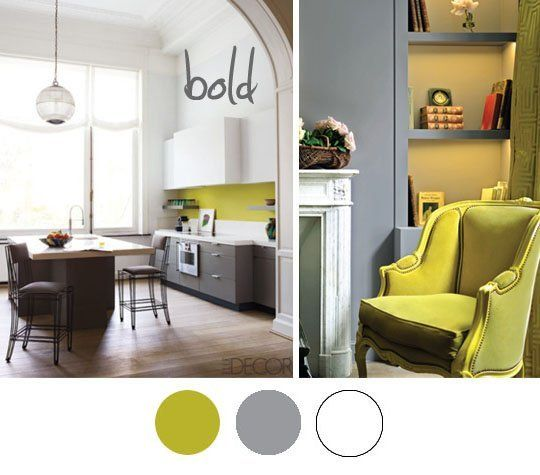 20 best interior paint color images on pinterest home for What color goes with chartreuse