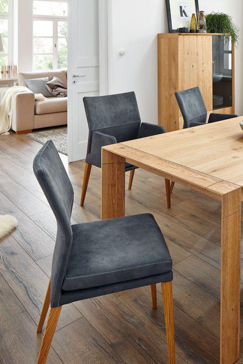 Bequemer Sitzkomfort mit dem modernen Stuhl von Natura Carry Mehr