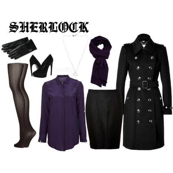 Fandom Fashion ~ Sherlock Holmes